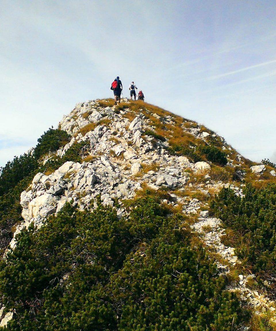 julian alps walking tour - Juliana Trail