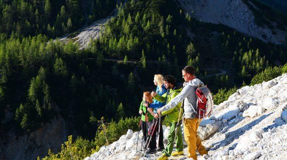 Walking trail Juliana in Slovenia