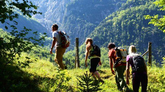 walking holiday adventure in slovenia alps