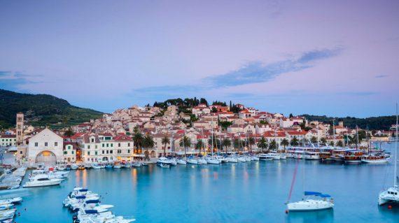 Beautiful Hvar town