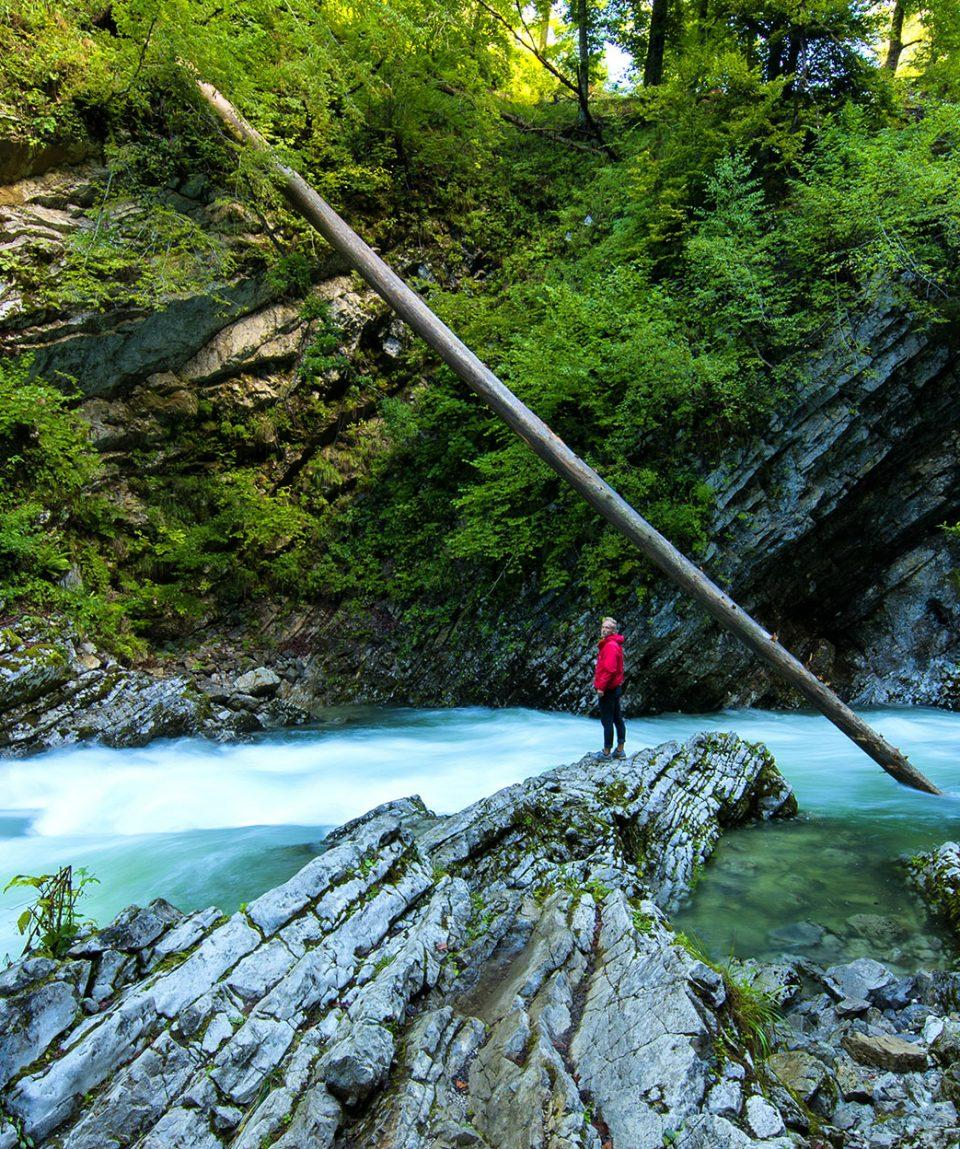 juliana walking trail slovenia alps